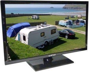 best tv for caravan
