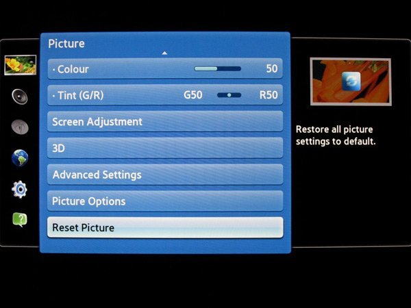 Best Picture Settings for Samsung Led TV 32 inch