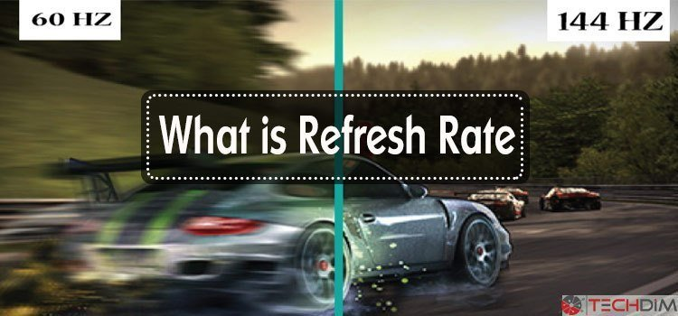 how to check tv refresh rate