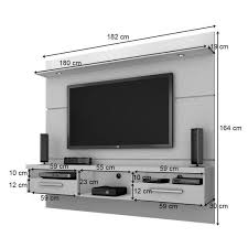 tv fitting on wall