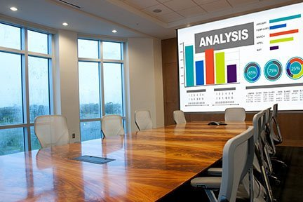 meeting room & business projector