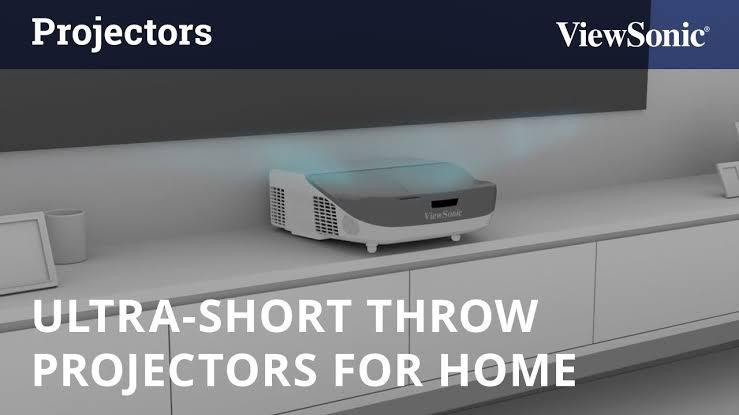short throw projectors