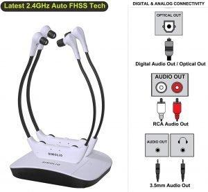 best tv headphones for seniors & elderly